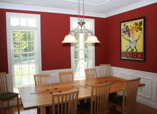 Warmth and durability from National Vinyl windows.